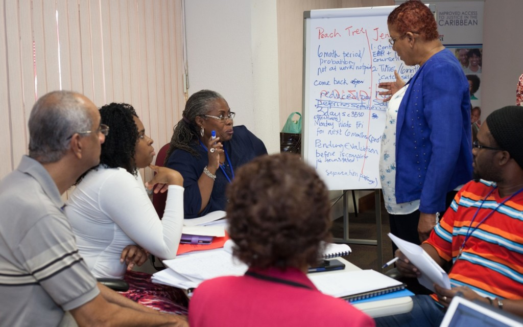 IMPACT Justice Conducts Mediator Refresher Training in Dominica