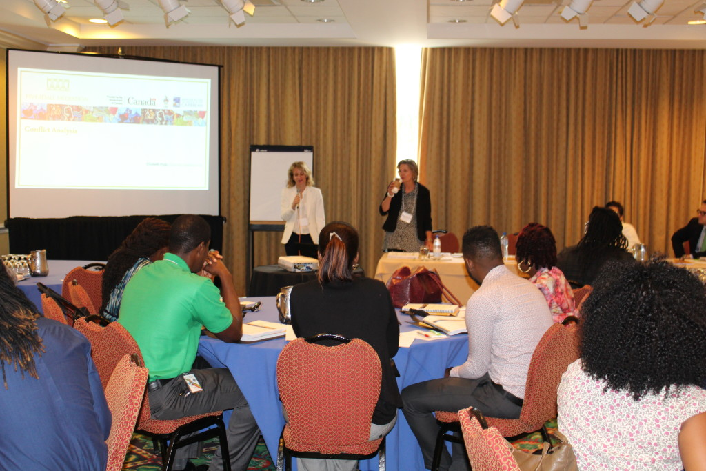 St. Vincent and the Grenadines benefits from Community Mediation Training hosted by Canadian-funded IMPACT Justice