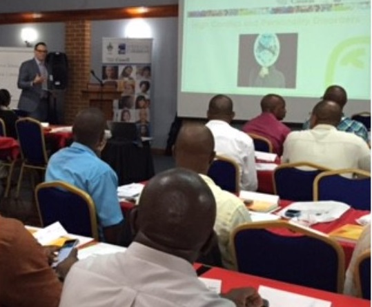 DOMINICAN POLICE OFFICERS RECEIVE COMMUNITY MEDIATION TRAINING UNDER THE IMPACT JUSTICE PROJECT