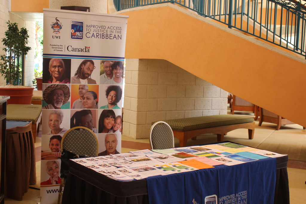 IMPACT JUSTICE CO-SPONSORS THE 15TH ANNUAL CARIBBEAN COMMERCIAL LAW WORKSHOP OF THE FACULTY OF LAW, UWI CAVE HILL CAMPUS