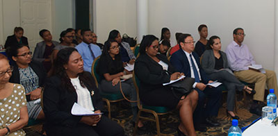 IMPACT Justice Business Names and Legal Profession Legislation Committees meet in Guyana