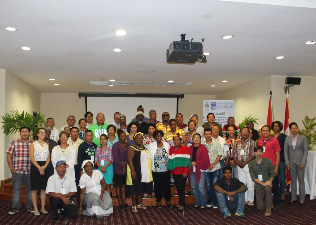 IMPACT Justice Concludes Seminar/Meeting on Indigenous Peoples in Guyana